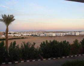 Sharm-el-Sheyh Vid iz okna gostinitsyi Panorama Naama Heights