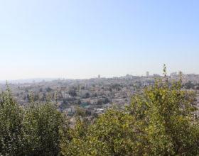 Izrail. Panorama Ierusalima