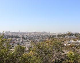 Izrail. Ierusalim panorama goroda