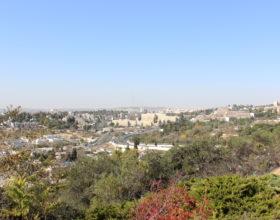 Izrail. Ierusalim vid na gorod