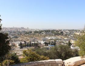 Ierusalim. Vid na gorod s Maslichnoy goryi