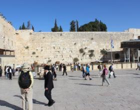 Ierusalim. Vozle stenyi placha