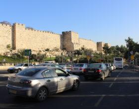 Ierusalim. Dvizhenie v gorode