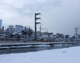 Река Сочи и улица Конституции