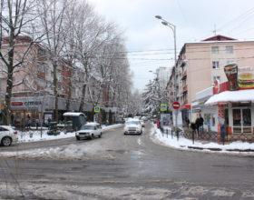 Перекресток улиц Московской и Воровского